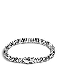 John Hardy Small Chain Bracelet With Kali Clasp Silver