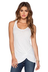 Stateside Knotted Tank White