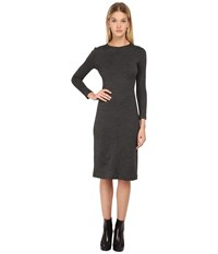 Theory Ekundayo Dress Charcoal Black Women's Dress