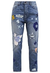 Maison Scotch Relaxed Fit Jeans Soul Rider Destroyed Denim