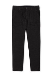 French Connection Tower Pocket Trousers Charcoal