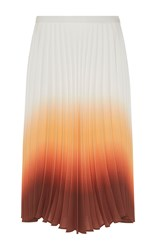 J.W.Anderson J.W. Anderson Ombre Pleated Skirt Orange