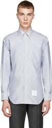 Thom Browne Blue Oxford Turtle Shirt