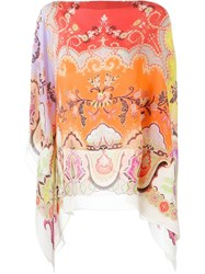 Etro Printed Tunic Multicolour