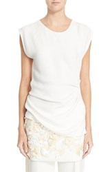 Women's 3.1 Phillip Lim Ruched Side Shell White