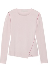 Stella Mccartney Asymmetric Cashmere Sweater Pink