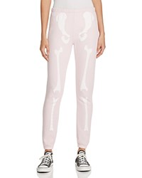 Wildfox Couture Inside Out Sweatpants Ghost Pink