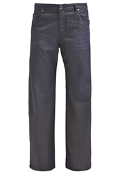 Diesel Palazzo Relaxed Fit Jeans 0667Q Dark Blue