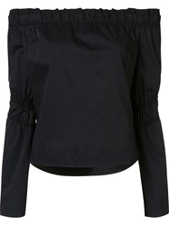 Zac Posen 'Dakota' Blouse Black