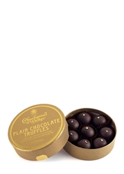 Charbonnel Et Walker Plain Chocolate Truffles With Gold Flakes 115G