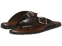 Massimo Matteo Buckle Thong Quercia Men's Dress Sandals Burgundy