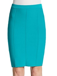 Romeo And Juliet Couture Bandage Pencil Skirt Tropical Green