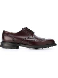 Church's 'Newark' Brogue Shoes Red