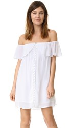 Young Fabulous And Broke Yfb Clothing Mona Dress White