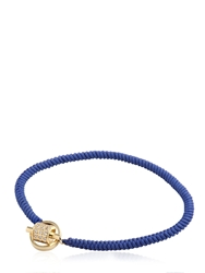 Luis Morais Medium Bindu Toggle Bracelet Navy