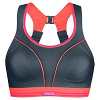 Shock Absorber Ultimate Run Sports Bra Grey Coral