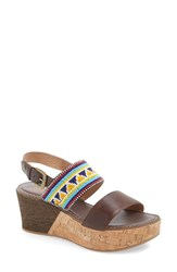 Women's Pikolinos 'Punta Cana' Wedge Sandal Olmo Leather