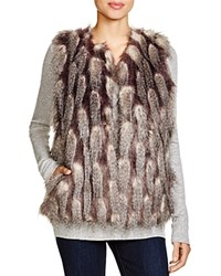 French Connection Danny Faux Fur Vest