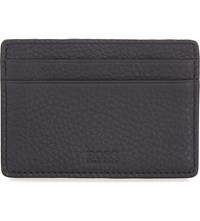 Hugo Boss Small Leather Card Holder Black