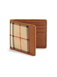 Burberry Horseferry Check Hipfold Wallet Plaid Multi