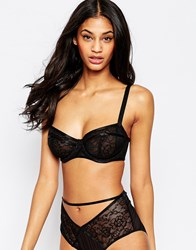 Wolf And Whistle Wolf And Whistle Lace Underwire Bra Black