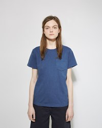 Blue Blue Japan Pocket Tee Blue