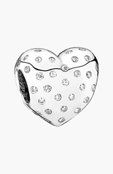 Pandora Design 'Sparkle Of Love' Bead Charm Sterling Silver