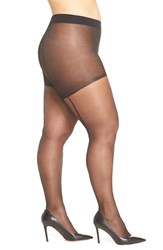 Pretty Polly Plus Size Women's Back Seam Pantyhose
