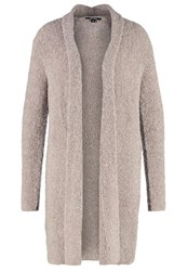 Comma Cardigan Brown Melange Taupe