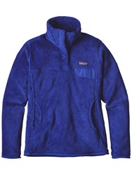 Patagonia Re Tool Snap T Fleece Pullover Harvest Moon Blue