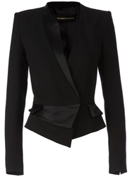 Alexandre Vauthier Cross Over Blazer Black