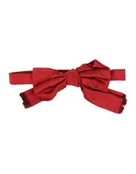 People Bow Ties Red