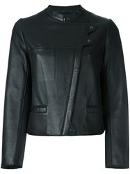 Zadig And Voltaire 'Luxe' Biker Jacket Black