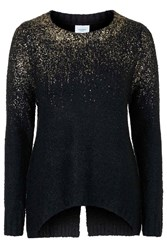 Alex2 Ombre Gold Flake Jumper By Jovonna Black