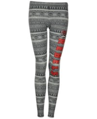 Concepts Sport Women's Unlv Runnin Rebels Comeback Tribal Leggings Charcoal Gray