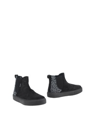 Victoria Ankle Boots Black