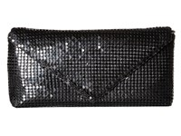 Jessica Mcclintock Grace Mesh Envelope Clutch Black Clutch Handbags
