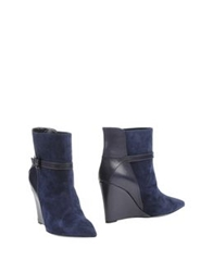 Lerre Ankle Boots Dark Blue