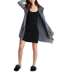 Ugg Hooded Open Front Cardigan Grey
