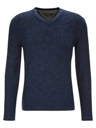 Marc O'polo Knitted Sweater Blue