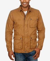 Lucky Brand Men's Barn Jacket Tobacco