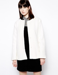 The Whitepepper Boucle Jacket Cream