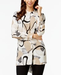Alfani Button Down Hi Low Tunic Only At Macy's