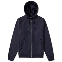 Paul Smith Basic Zip Hoody Blue