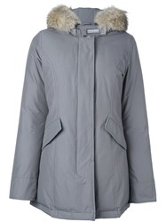 Woolrich Hooded Parka Grey