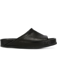 The Last Conspiracy 'Gaby' Sliders Black