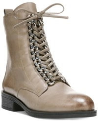 Fergie Nemo Lace Up Booties Women's Shoes Grey