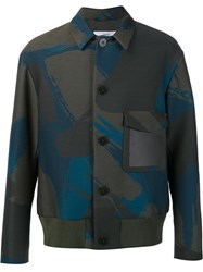 Oamc 'Blouson' Jacket Green