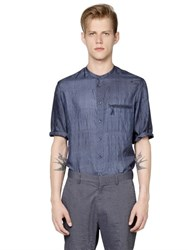 Giorgio Armani Short Sleeved Indian Silk Shirt