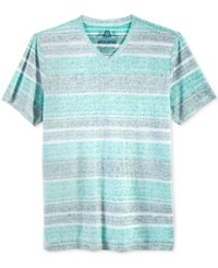 American Rag Men's Painters Stripe T Shirt Only At Macy's Blue Turquoise